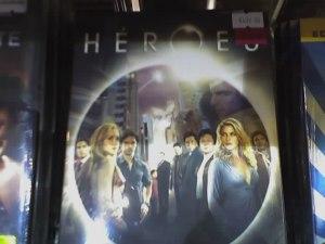 Y la segunda temporada de HEROES, otra compra obligada...