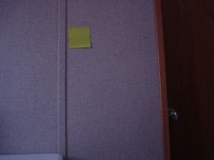 El post-it que no tien que decir...